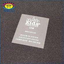 Good washable thermal care labels transfer paper for clothing