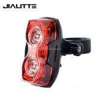 Jialitte B055 Raypal Red Beam 1 Watt Bike Tail Light AAA MTB Bicycle Rear Lamp 2 Red Leds Seat Post Warning Cycling Lighting
