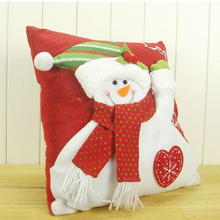 Christmas decorative products snowman cushion Christmas pillows
