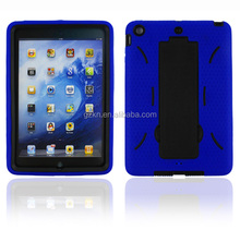 Stand case for iPad mini silicone tab back shell