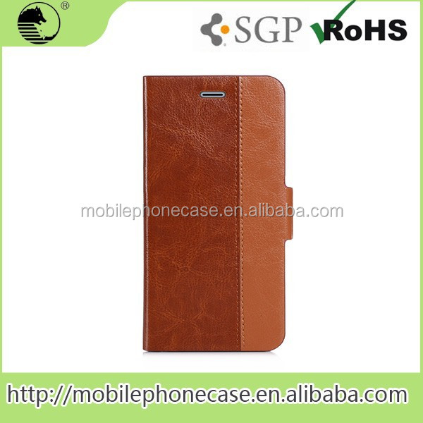 Abroad Sales Flip Cover Eco-Friendly Leather Phone Case For Samsung Note 5 Edge