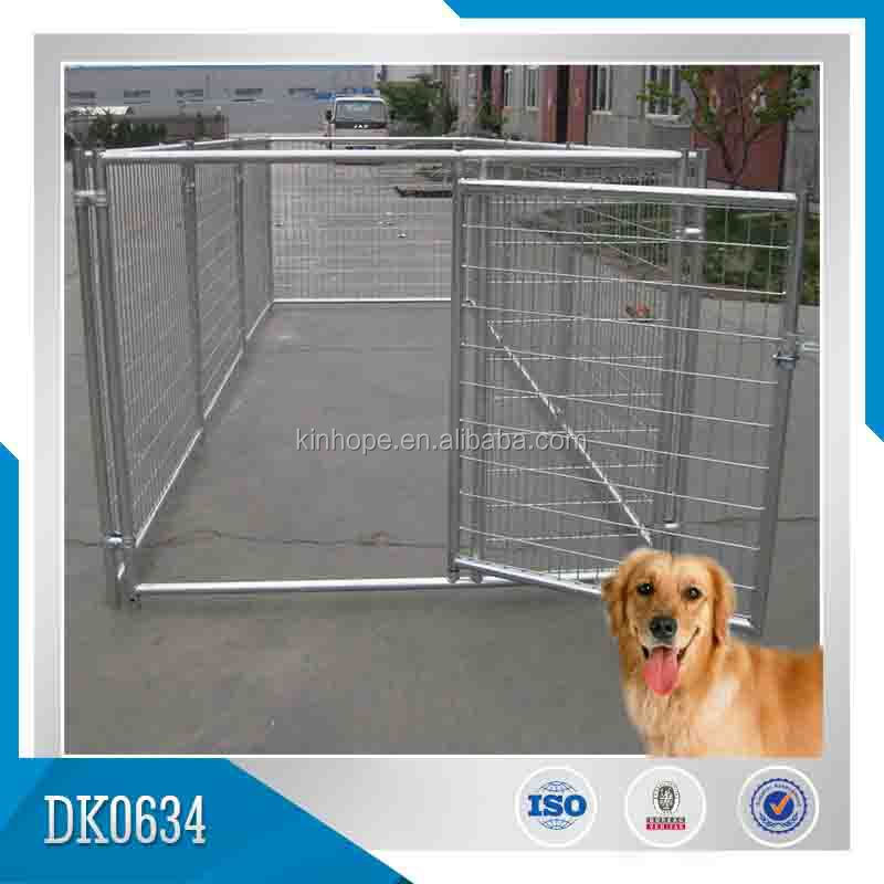 Hot Sales Galvanized Wleded Wire Mesh Filled Outdoor Dog Fence/Dog Kennel/Dog Cage