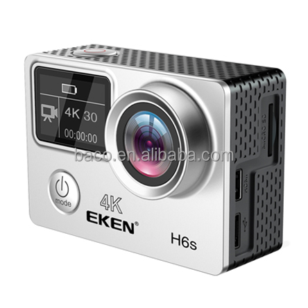 Original New EKEN H6S Action Camera 4K Ambarella A12 EIS Video Sport action camera