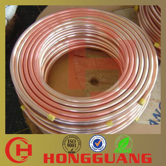 Excellent strength air conditioner copper pipe price per for Copper pipe cost