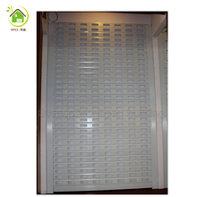 square Perforated remote control aluminum china rolling shutter door