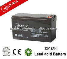 12v 9ah lead acid motorcycle battery