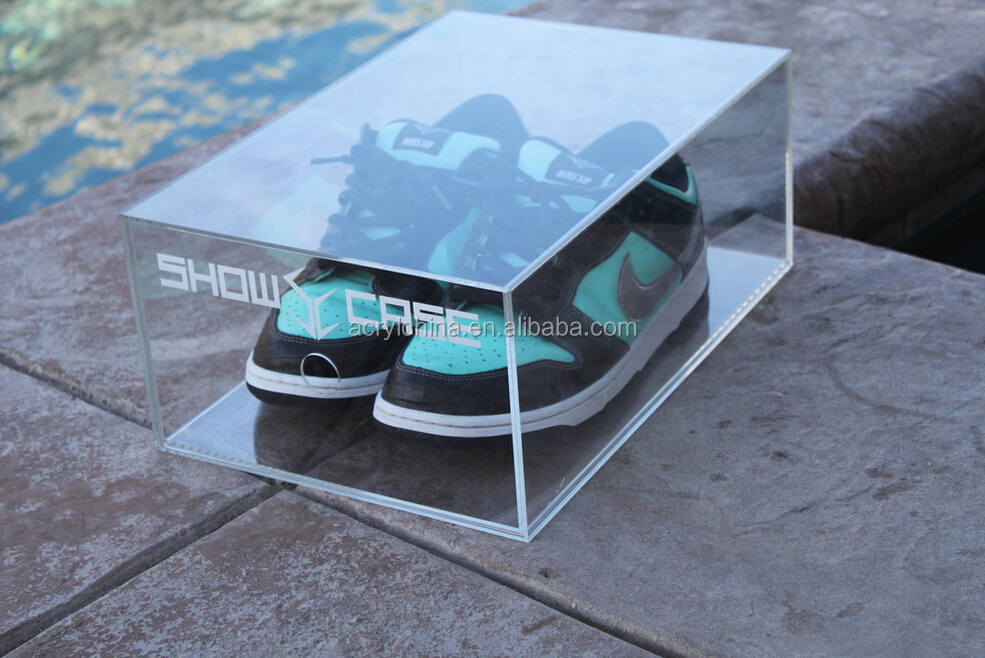 2015 China Professional Export Clear Acrylic Shoe Display Boxes (1).jpg