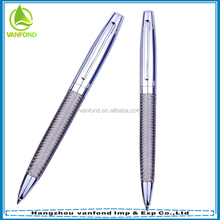 Classical style stainless steel wire braid metal pen/stainless steel metal ballpoint pen