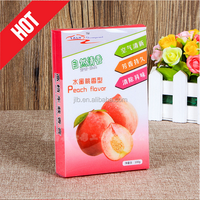 Clear Custom First Class Printing Soft Plastic Box with Hanger for Fruit Package