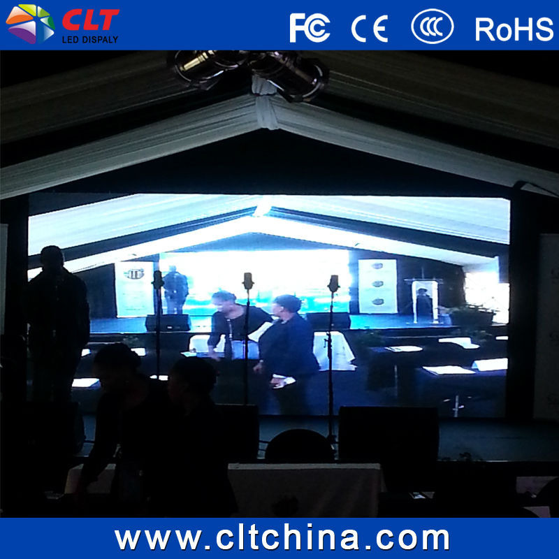 P6 full color Indoor Rental LED Screen Display