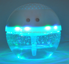 Christmas decor led water air purifier for home