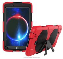 Military duty shockproof waterproof pad case for LG G Pad II V495 armor with screen protector