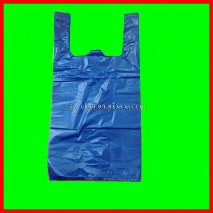 hdpe clear plastic t-shirt bag NO.704 resealable plastic t-shirt bag