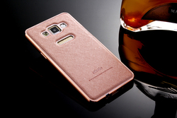 A5/A7 Mobile Phone Cover Gold Slim Luxury Aluminum Metal + Hybrid Armor Case For Samsung Galaxy A5 A5000 A7 A7000 Drop Shipping