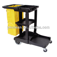 Y1501 Multifunctional Cleaning Cart, Janitor Cart