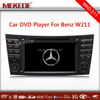 7 Car DVD GPS Player for Mercedes Benz E-Class W211(2002-2008)/ (E200,E220,E240,E270,E280) CLS W219(2004-2011) BT Radio SD