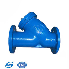PN10 ductile iron/ Stainless Steel sea water Y type strainer