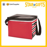420D/PVC Material and Insulated Type 6 Pack Wine Cooler bag