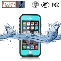 Redpepper Underwater 2M Protective TPU +PC Waterproof Cases For iPhone 6 Plus Waterproof Cover