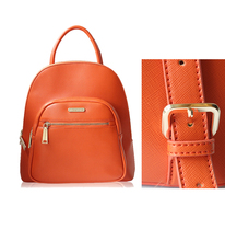 Fashionable backpacks for girls PU leather passed SGS certificate