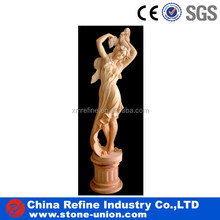 white marble lady nude sculpture &stone marble garden statue