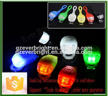 Battery operated bicycle led lights,silicone bike light,Rear Tail Flash Lamps