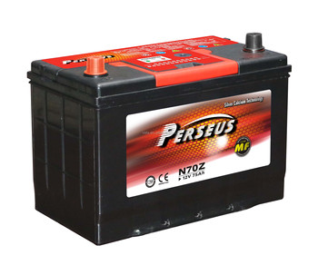 PERSEUS brand of battri pondeuse for car battery 12 v capacity of 51-80AH