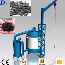 olive wastes palm shell wood charcoal production machine