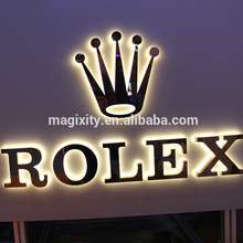 Custom business outdoor Advertising 3d letter light channel led sign