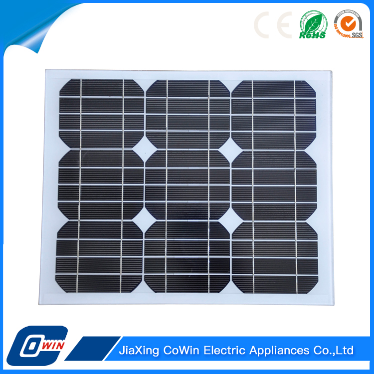 High Quality A-grade Cell High Efficiency 15W Portable Small Solar Panel