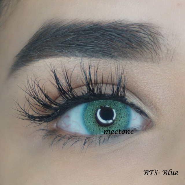 Meetone BTS 8 Colors China Cheap Eye Lenses Cosmetic Beauty Color Contact Lens