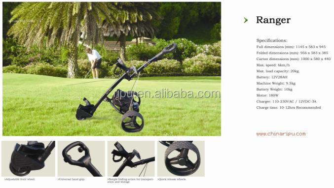 Electric Golf Trolley wheel golf