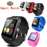 Cheap smart watch sync for iphone and android phone smart watch U8 DZ09 A1 wrist watch blood pressure