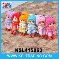 2015 Wholesale promotion samll lovely cheap small craft doll