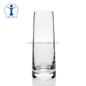 China Factory Whosale Classic Clear Tumbler Borosilicate Mini Beer Glass Cup