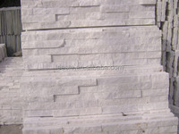 Popular Chinese White Quartz Culture Stone, Stack Stone, Ledge Stone for Wall Cladding