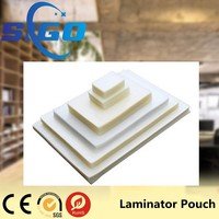 Clear White Plastic Photo Laminating Pouch Film