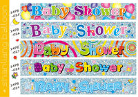 Baby shower party flying banner printing