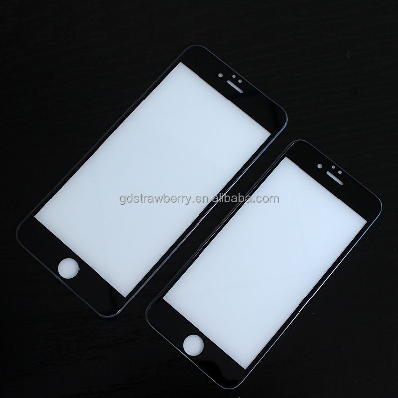 3D Full Cover Silk Print Colorful Silicone Edge Screen Protector With Plastic Plate
