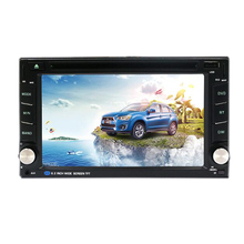 2 Din Car Audio With DVD PLayer GPS Navigation In Dash Headunit 6.2 inch