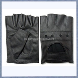 Hot sale leather driving gloves motorcycle and bike