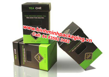 Custom Tea Packaging Box