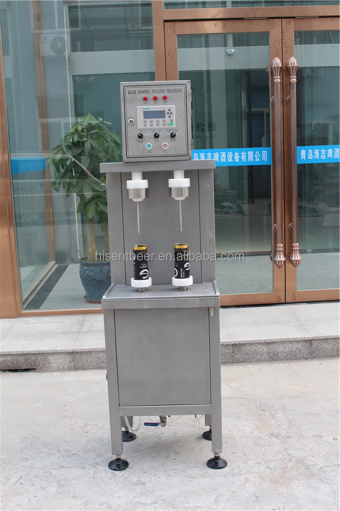 beer canning filling machine line