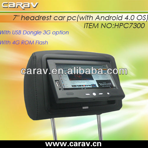 ALLWinner Android 4.0 WiFi Tablet PC for taxi/bus