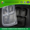 Wholesale 3 compartment plastic disposable food lunch box