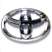 Factory direct sales custom chrome silver acrylic Car emblem Badges for 4s car shop