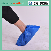 aimmax Disposable PP/ CPE/PP+PE/PE plastic shoe cover / foot wear