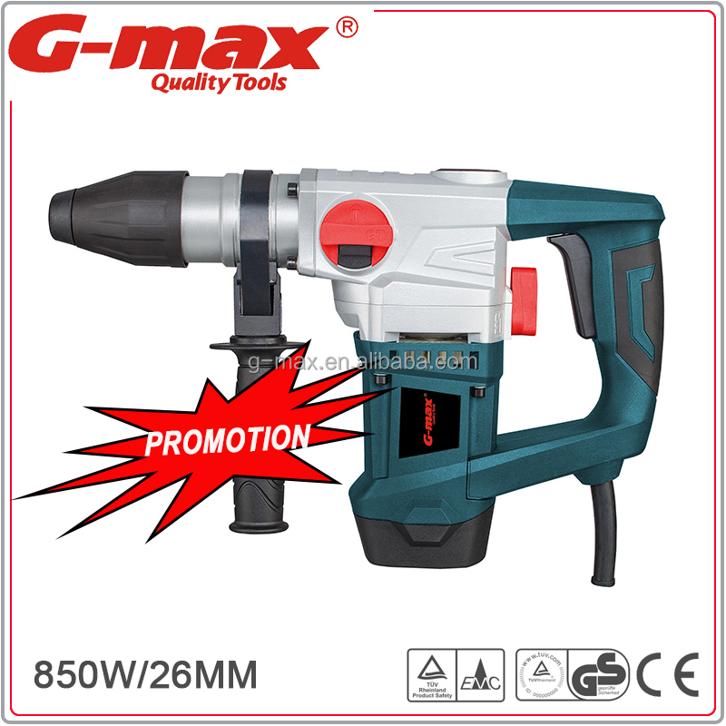 FFU Good Quality 26mm 1010W Electric Jackhammer With CE/GS/EMC Certified GT13068