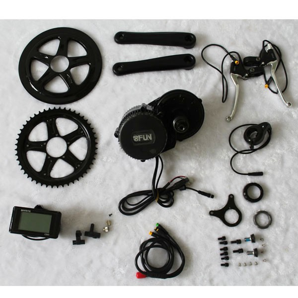 50 Kph Speed Ce Wheel Conversion Kit For 250W Rear Rack Electric Bicycle Magnetic Motor Bike