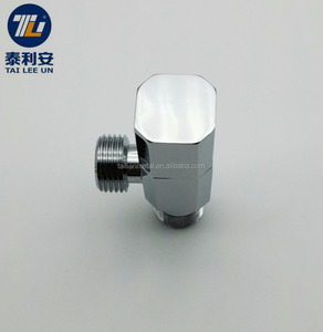 World-wide renown brass chrome plated brass angle thermostatic radiator valve